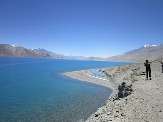 Leh Ladakh Pangong lake mhet club