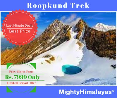 roopkund trek by mighty himalayas, trekking in uttarakhand himalayas by mhetclub