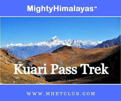 Kuari Kuwari Pass winter Trek Uttarakhand Mighty Himalayas